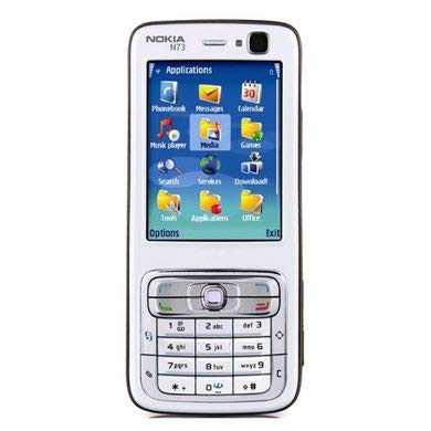 Nokia N73 Keypad Symbian Smartphone - Silver: Amazon in