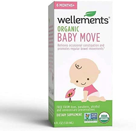Amazon Com Wellements Organic Baby Constipation Support 4 Fl Oz 2 Count Free From Dyes Parabens Preservatives Packaging May Vary Health Personal Care