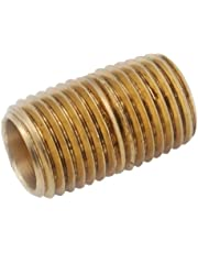 Anderson Metals 38300-0840 1/2-Inch by 4-Inch Nipple, Brass
