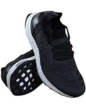 Big Kids UltraBOOST Uncaged (gray / solid grey / core black / utility black)