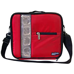 FlexiFreeze Re-Freezable Lunch Box Cooler (Red)