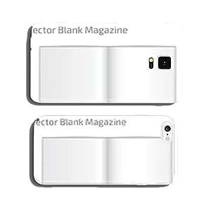 Open magazine vector cell phone cover case Samsung S6