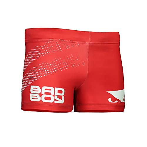 Bad Boy Premium Fighting and Training Shorts for Mixed Martial Arts, Brazilian Jiu Jitsu and Workouts by Bad Boy Mma