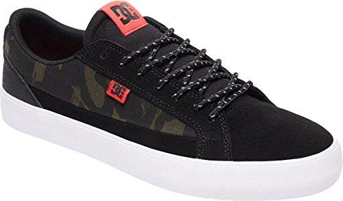 Black Suede Camo (DC Men's Lynnfield S SE Shoes, Camo Black, 8D)