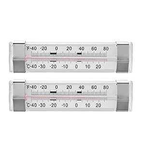Kreema 2 Unids Congelador Nevera Termometro Refrigerador ...