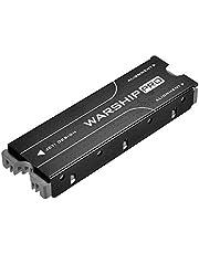 M.2 2280 SSD Heatsink, PCIE NVME or SATA m2 2280 SSD Double-Sided Heat Sink, M.2 SSD Heatsink for PS5 Computer PC - Black