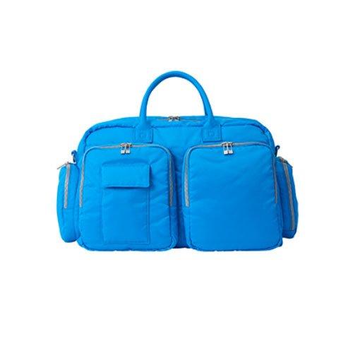 トロイの木馬ワーカーダイヤルONOFF(オノフ) ボストンバッグ onoff equipment ナイロン ボストンバッグ ブルー OV0418-34 機能:デオドラントネーム(R)(消臭?除菌効果) 付、シューズ収納用ポケット