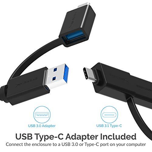 Sabrent Rocket Pro 1TB NVMe USB 3.1 External Aluminum SSD (SB-1TB-NVME) by Sabrent (Image #6)