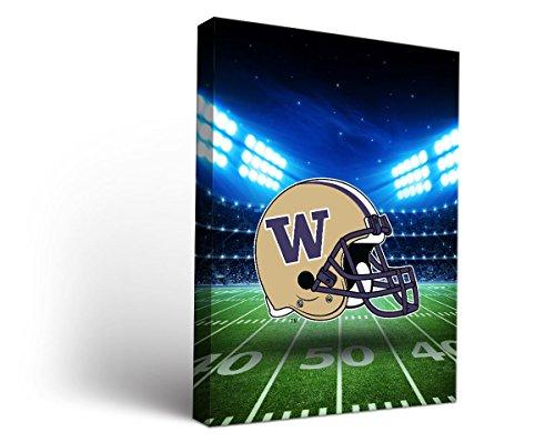 Washington Uw Huskies Canvas Wall Art Stadium Design