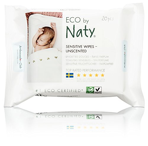 Naty by Nature Babycare Eco Baby Travel Wipes
