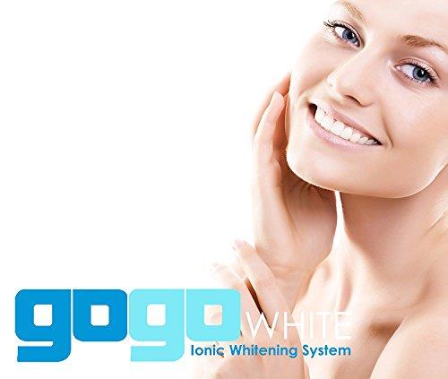 Premium Teeth Whitening Kit by GOGO White Teeth Whitening, Dental Grade Whitening Gel Made in USA in Large 10cc Syringe, Custom Teeth Bleaching Trays, Powerful Blue Light, Best Tooth Whitener by GOGO White Teeth Whitening (Image #3)