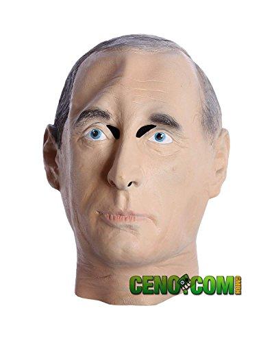 CENO COM Putin Mascara Traje de Carnaval Partido de latex Mascaras
