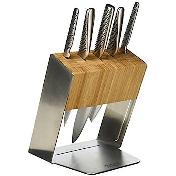 Amazon Com Global G 888 91st 9 Piece Knife Set With