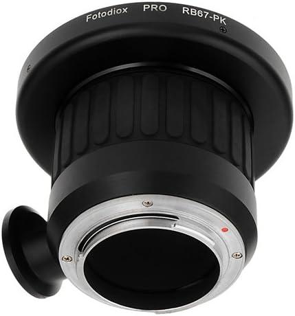 Fotodiox Pro Lens Mount Adapter with Focusing Barrel PK for Mamiya RB67 Lens to Pentax K-Mount DSLR Cameras