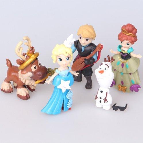 5pcs/ (Olaf Anna And Elsa Costumes)