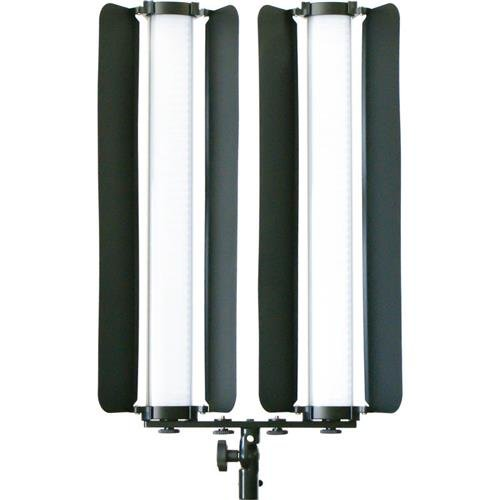 Intellytech Light Stix Mini 19.75'' - 2 Unit Kit with Barn-Doors by Intellytech