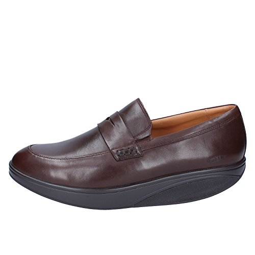 MBT Balozi Dress Luxe Penny Loafer Oxford Scarpa Uomo marrone