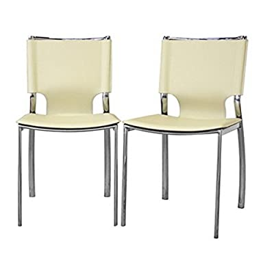 Baxton Studio Upholstered Dining Chair - Set of 2