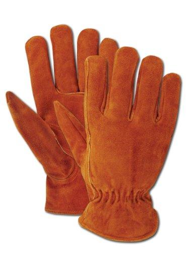 Magid TB441ET-L Men's Pro Grade Collection Fleece-Lined Suede Gloves, Large