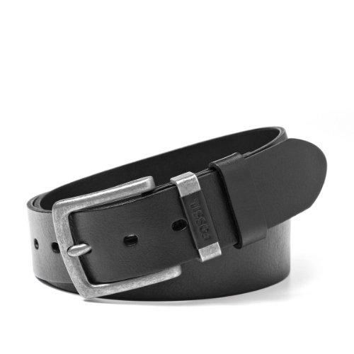Fossil Leather Genuine Belt (Fossil Men's Jay Leather Jean Belt Black)
