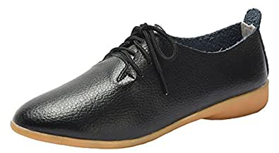 WUIWUIYU Womens 330024U Oxford Black Size: 5