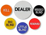DA VINCI Set of 6 Professional Casino Texas Holdem
