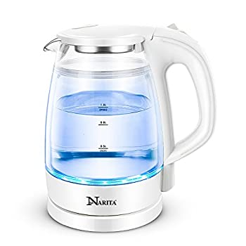 Double Wall Electric Glass Kettle By C&H®