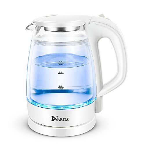 Narita Trading Double Wall Electric Glass Kettle By C&H®