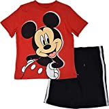 Disney Mickey Mouse Toddler Boys T-Shirt and Mesh