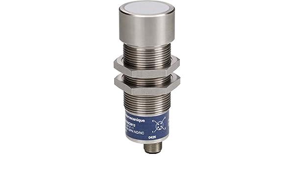Schneider Electric XX630S1PCM12 Detector Ultrasonidos 1M D30 Acer. Inox.: Amazon.es: Industria, empresas y ciencia
