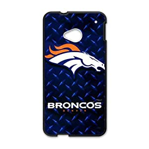 Happy NFL Broncos Cell Phone Case for HTC One M7