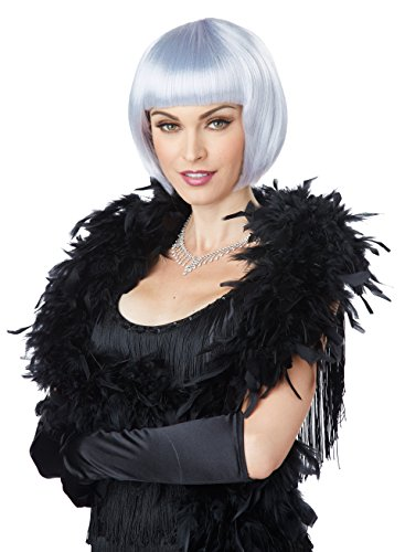 California Costumes Women's Flapper Wig, Lavender/Gray, One Size - Party City Girl Costumes 2016