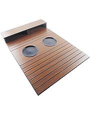 Porta Copo/Controle De Madeira Para Sofa 48x32cm