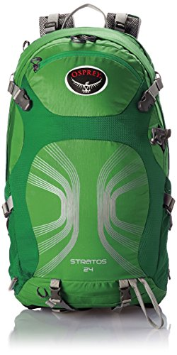 Osprey Packs Stratos 24 Backpack, Pine Green, Small/Medium