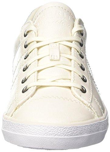 Esprit Damen Miana Lace Up Sneaker Beige (bianco Sporco 110)