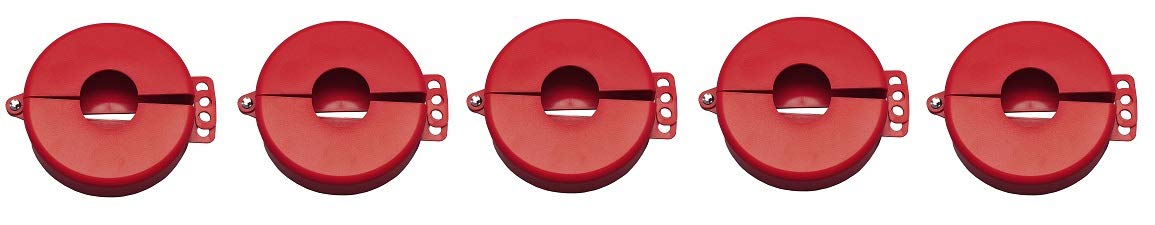 Gate Valve Lockout, Fits Sz 2-1/2 to 5 (5-(Pack))