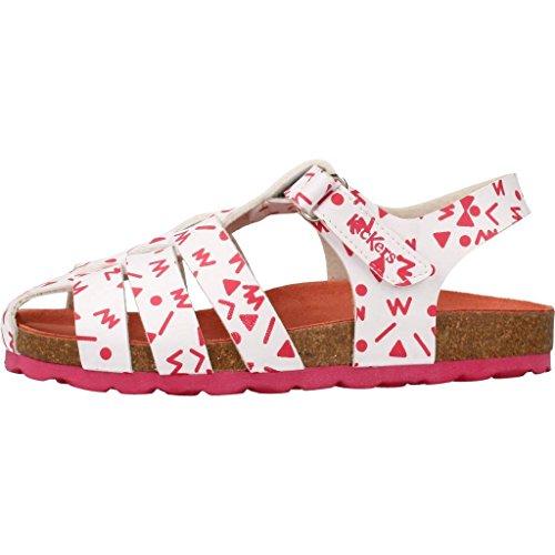 Kickers Sandalen/Sandaletten Mädchen, Farbe Weiß, Marke, Modell Sandalen/Sandaletten Mädchen SUMMERTAN Weiß Weiß