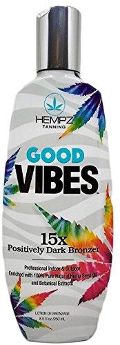 Hempz Good Vibes 15x Positively Dark Bronzer 8.5 oz - Vibe Bronzer