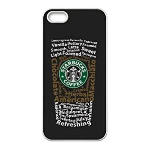 iPhone 5,5S Phone Case White Starbucks BFG584267