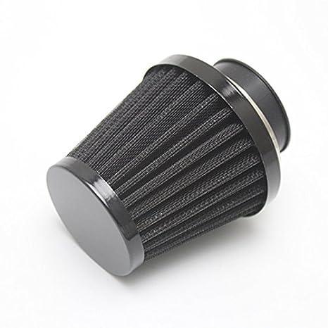 38mm Luftfilter Intake Induction Kit f/ür die meisten Dirt Pit Bike Mini Motocross Motorradmotor Black Universal Sportluftfilter Luftfilter