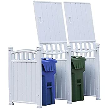 Attrayant RubbishWrap Outdoor Garbage Enclosure   Trash Bin Shed Storage   Double Unit