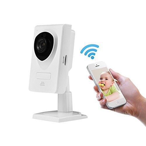 Indoor IP Camera, INKERSCOOP 720P Security Camera Outdoor&Indoor Wireless IP camera WiFi Security Monitor with Night Version&Motion Detection (629-Indoor cam)