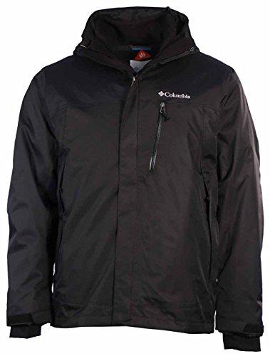 Columbia Men Rural Mountain Interchange Omni-Heat 2 in 1 Jacket ((4X/4TF), Black)