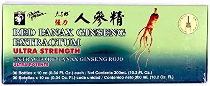 Prince of Peace Ginseng Red Panax Chinese Ginseng Extractum 10 cc 30 vials a – 2pc