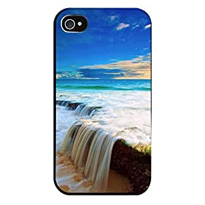 Iphone 4 4s Case-silicone Protective-beach_ocean_water