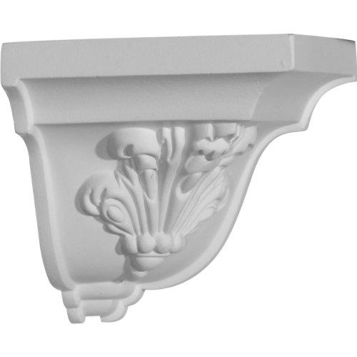 Molding Trim Corner (Ekena Millwork MOC04X04  4 5/8-Inch P x 4 3/4-Inch H Outside Corner for Molding Profiles)