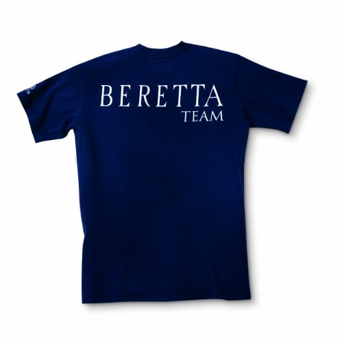 Navy Beretta Navy Uomo Ufficiale shirt Shooting Xl T Da Della Squadra Uomo zpHrz
