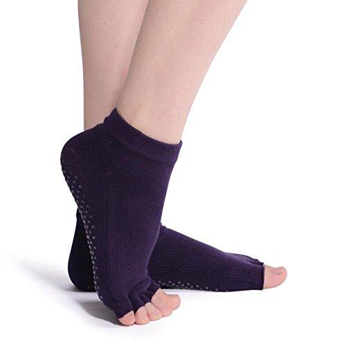MAEZAP Womens Toeless Socks Pilates