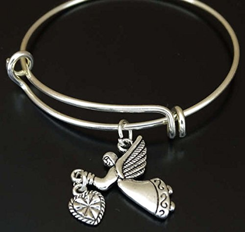 Amazon Com Guardian Angel Bracelet Guardian Angel Charm Guardian