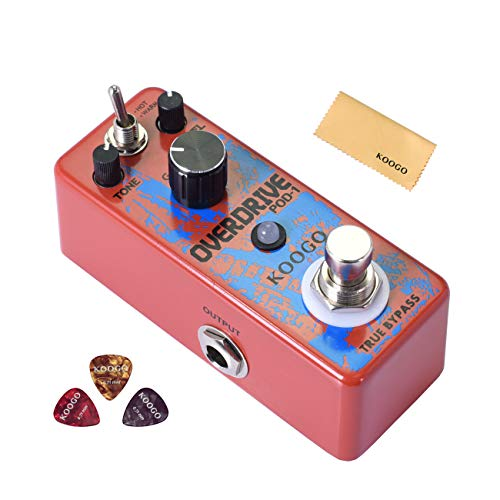 Koogo Vintage Overdrive Guitar Effect Pedal Tube Screamer, used for sale  Delivered anywhere in USA